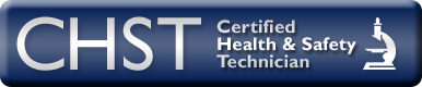 Certified Health & Safety Technician Certification badge