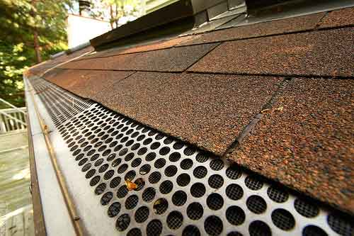 Gutter protection is NOT to be overlooked!