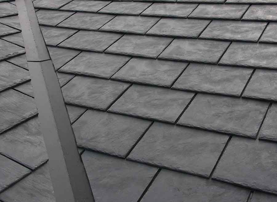 High-grade rubber roof shingles