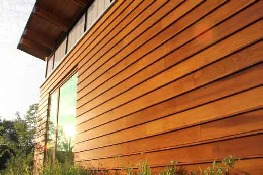 There are also varying qualities, colors, shapes, etc., of wood siding