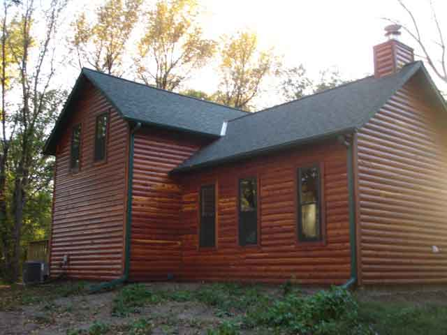 Picture of cedar siding