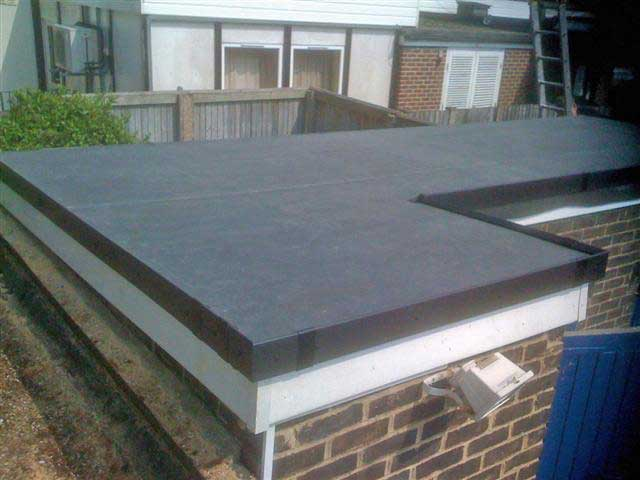 Picture of a flat roof