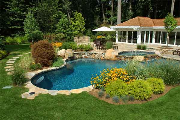 Picture of landscaping work
