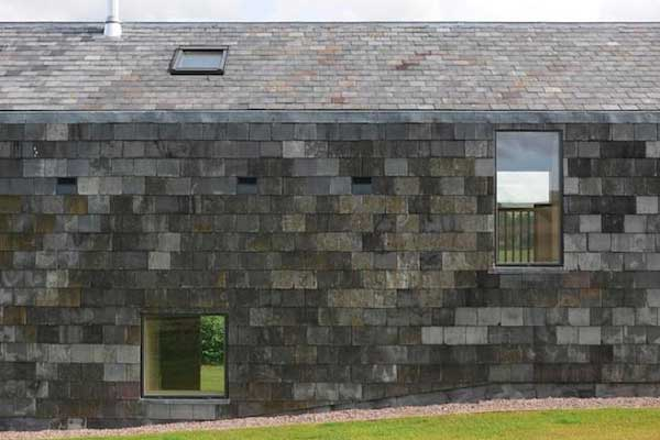 Picture of slate siding